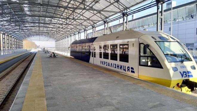У Києві запустили залізничний експрес у «Бориспіль». До аеропорту можна доїхати за 35 хвилин