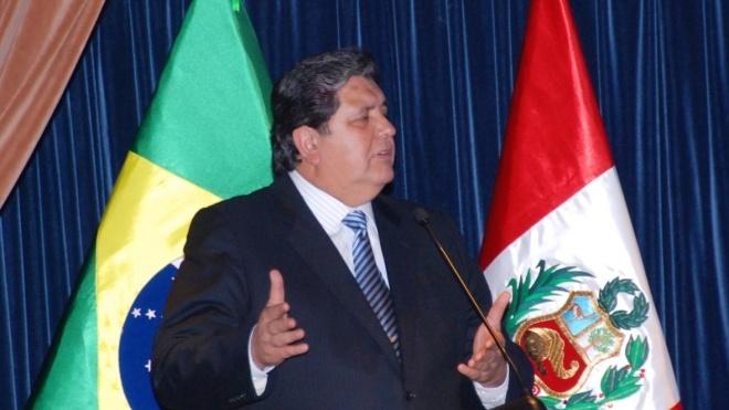 Колишній президент Перу вистрелив у себе, коли його намагалися арештувати