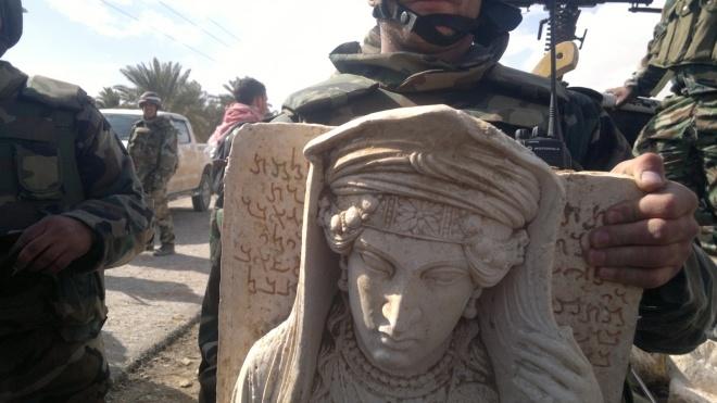В Facebook продают древние артефакты из Сирии и Ирака. Их похитили в ходе боевых действий