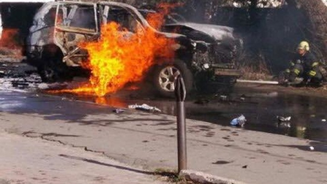 Терористку, яка підірвала авто підполковника СБУ Хараберюша, засудили до 12 років з конфіскацією майна
