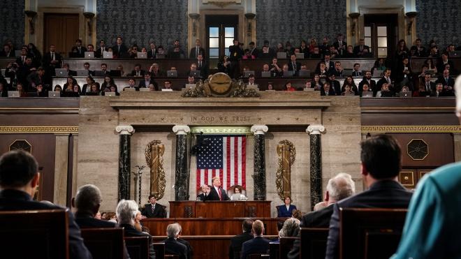 Запрет абортов и переговоры с талибами: Трамп выступил с ежегодной речью перед Конгрессом