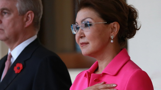 Після відставки Назарбаєва посаду спікера Сенату обійняла його дочка