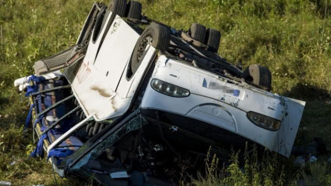 В Венгрии в ДТП пострадали 13 украинцев (обновлено)