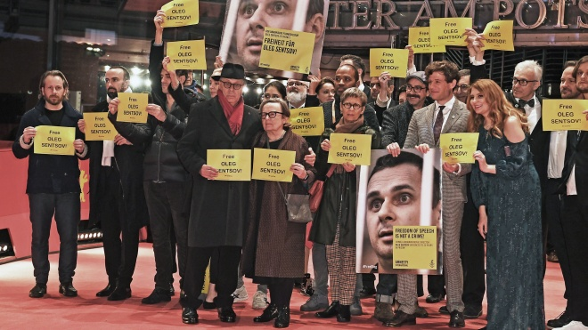 На кинофестивале «Берлинале» показали фильм о Голодоморе в Украине и призвали освободить Сенцова