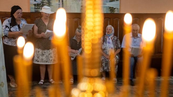 МВД: Пасхальная ночь прошла спокойно, богослужения состоялись в 13 тысячах храмов
