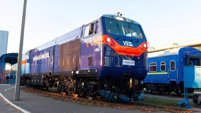 «Тризуб» вирушив у дорогу. В Україні почав працювати перший новий тепловоз від General Electric