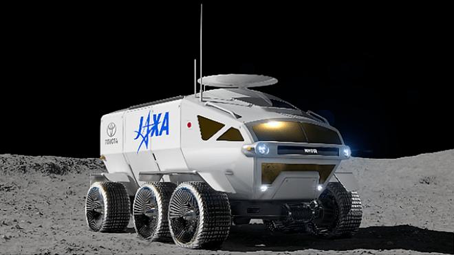 Toyota создаст вездеход для высадки на Луну. Космонавты смогут дышать в нем без скафандра