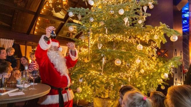 В одном из отелей Испании установили рождественскую елку за $15 млн