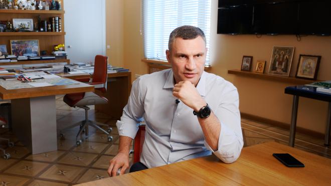 «Революция 2014-го начиналась с Киева». Большое интервью мэра Виталия Кличко, который не шантажирует, а только лишь напоминает