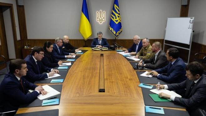 Порошенко созвал совещание в СНБО из-за ситуации с ПриватБанком