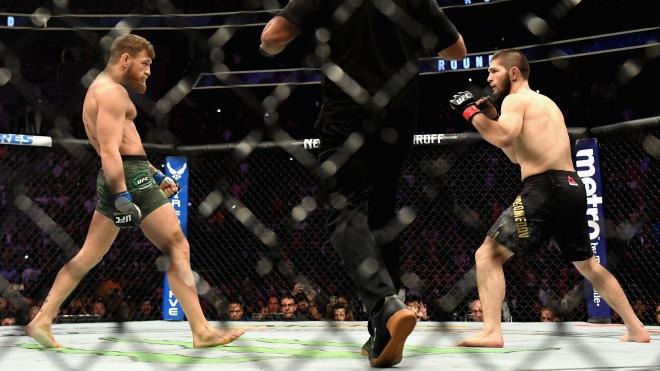 Нурмагомедов переміг МакГрегора та зберіг титул чемпіона UFC. Після поєдинку поліція затримала його менеджера