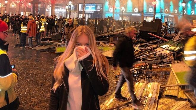 Протести у Парижі: влада повідомляє про 30 поранених і затримання 500 учасників - Цензор.НЕТ 1514