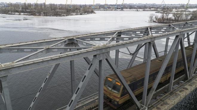 В Днепре задержали «минера», который на два часа заблокировал движение по мосту
