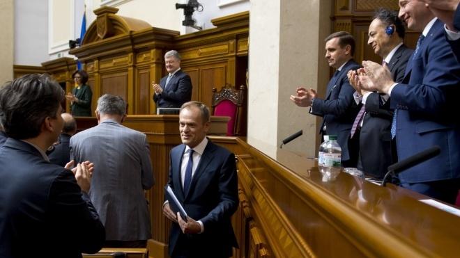 Закон про курс України на вступ до ЄС і НАТО опублікований в «Голосі України»