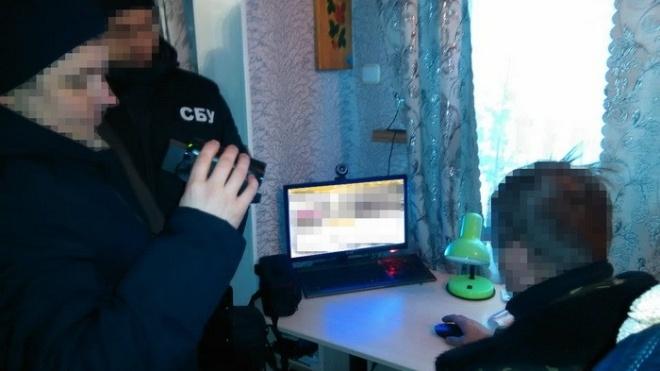 СБУ в Черниговской области задержала пророссийского агитатора. Он пытался влиять на украинских избирателей