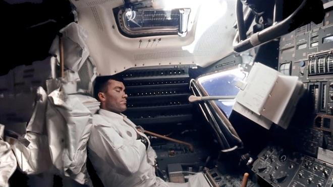 NASA показало документальный ролик об аварии на «Аполлоне-13». В нем есть оцифрованные кадры с корабля