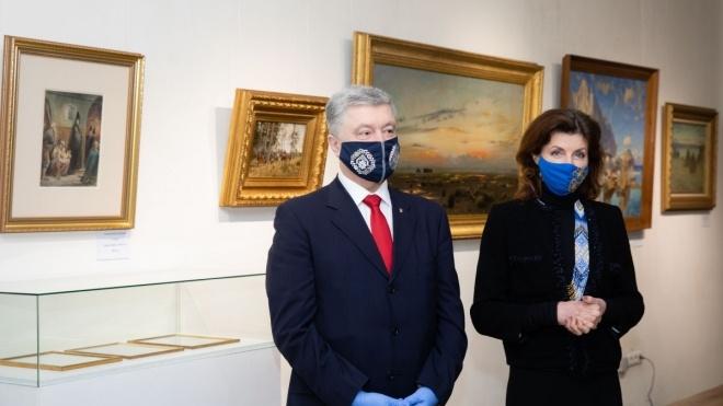 Музей Гончара: Порошенко попросил организовать выставку после получения вызова в ГБР