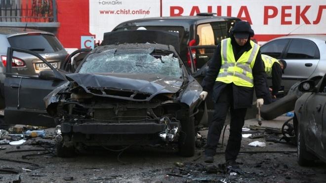 Полиция задержала подозреваемого в подрыве авто сотрудника спецслужбы в Киеве