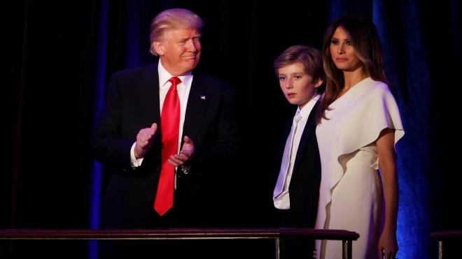 Дональд Трамп говорив про свого сина як про чужу людину. За це ЗМІ порівняли його з Дартом Вейдером