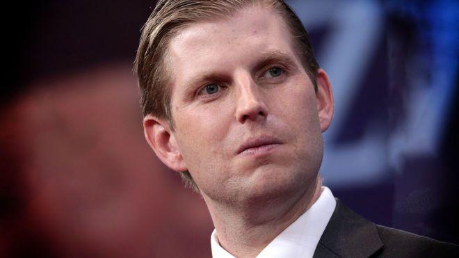 Сын Трампа заявил о поступающих угрозах в адрес их семьи