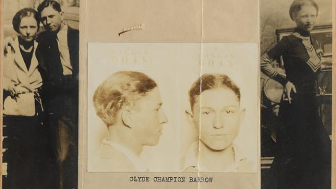 Особисті речі Бонні та Клайда продали на аукціоні за майже $200 тис.
