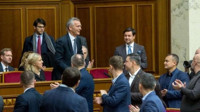 Йенс Столтенберг процитировал Тараса Шевченко на выступлении в Раде