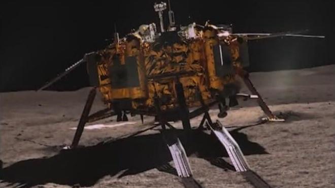 Китайський зонд Chang'e-4 перейшов у сплячий режим на час місячної ночі
