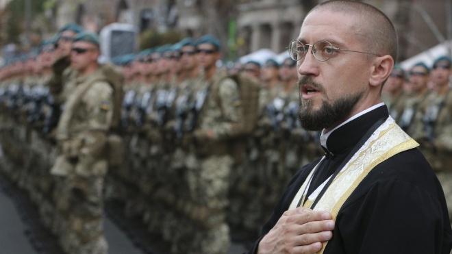 У Міноборони заявили про дефіцит військових капеланів: зі 106 посад укомплектовано лише 67