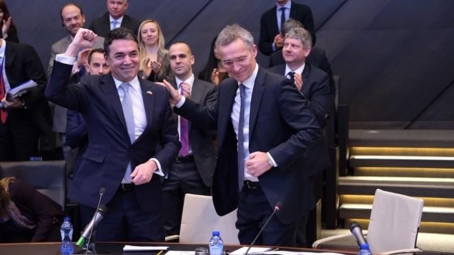 Расширение НАТО: подписан протокол про вступление Македонии в альянс