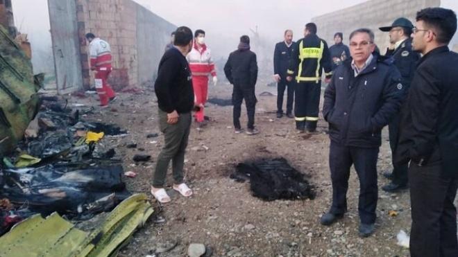 Офис генпрокурора начал расследовать авиакатастрофу в Тегеране