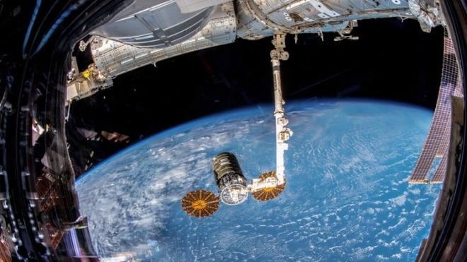 В атмосфере сгорел грузовой космический корабль Cygnus