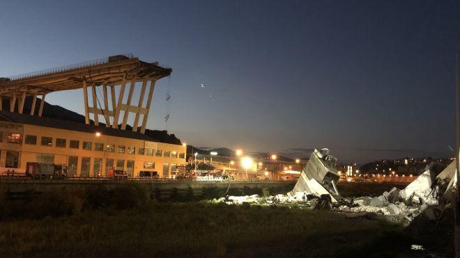 Двое украинцев пострадали из-за обрушения моста в Генуе