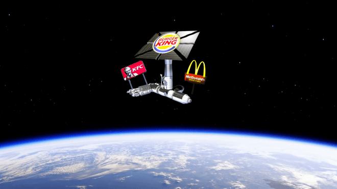 NASA предложило компаниям построить бизнес в космосе. Там можно снимать фильмы, возить туристов и собирать спутники. Но это пока только проект