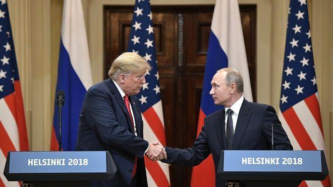 Politico: Путин передал Трампу документ об ограничении ядерных арсеналов