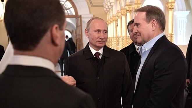 Путин отреагировал на закрытие каналов Медведчука: «Прихлопнули» и все молчат