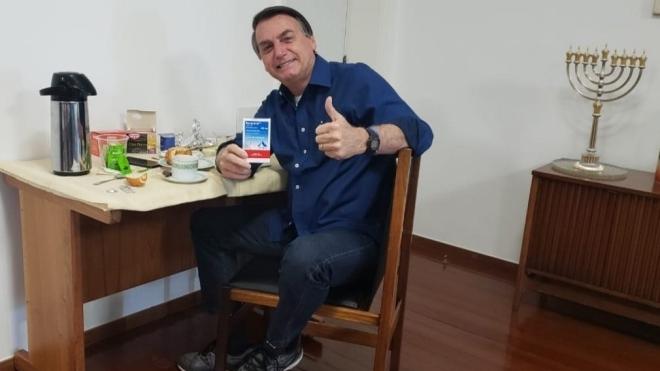 Президент Бразилии Болсонару сообщил об отрицательном тесте на коронавирус