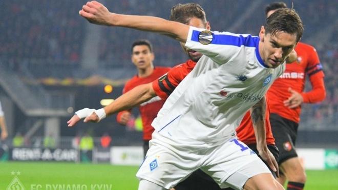 «Динамо» вдруге поспіль обіграло французький «Ренн» у Лізі Європи