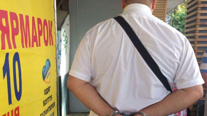 В Киеве на взятке в $20 тыс. поймали одного из руководителей Фискальной службы
