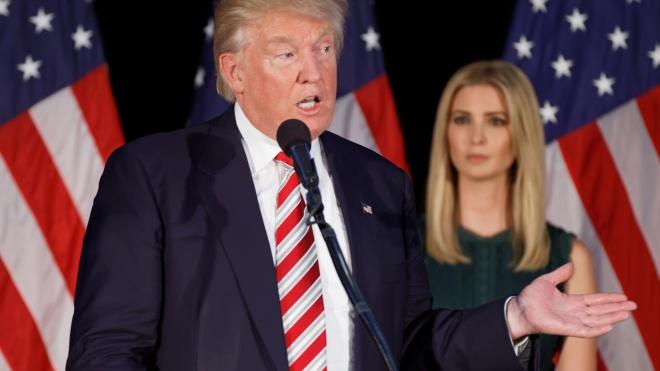 Трамп не видит «ничего плохого» в использовании Иванкой личного ящика для переписки с чиновниками