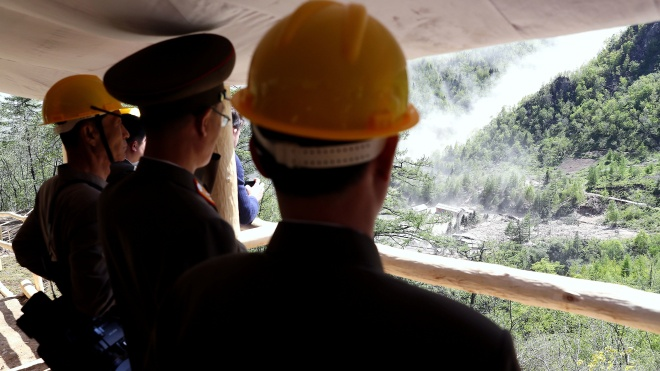 Держдеп США: Кім Чен Ин запросив інспекторів на ядерний полігон Пунгері