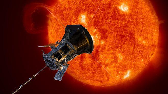 Первый солнечный зонд человечества направился к солнечной орбите
