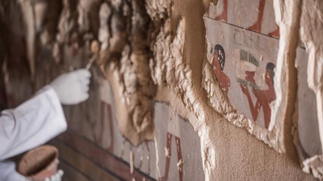 Египет в День всемирного наследия объявил об открытии новой гробницы фараонов