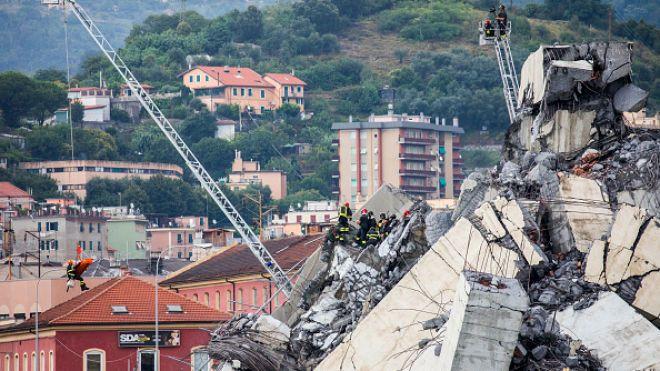 Independent: Правящая партия в Италии называла «сказкой» предупреждения о том, что мост в Генуе может рухнуть