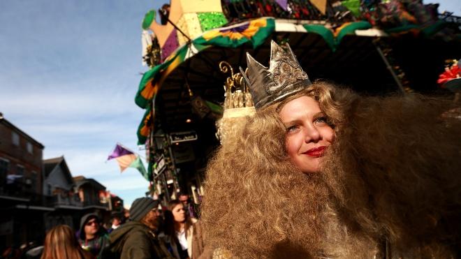 В мире празднуют Марди Гра перед началом католического поста. Вот несколько фото с фестиваля в Новом Орлеане