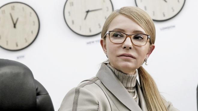 Юлия Тимошенко требует дать новому президенту распустить Кабмин