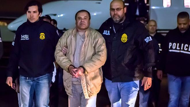 Наркобарона «Эль Чапо» признали виновным по всем пунктам обвинения