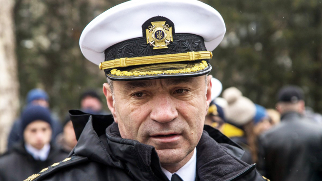 Хомчак решил сменить командующего ВМС. Вместо Воронченко назначат его заместителя