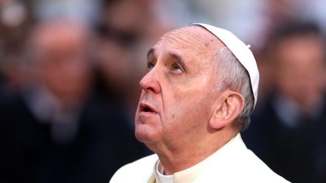 Папа Римський вперше з'явився на публіці після операції