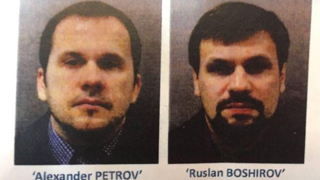 Отруєння Скрипалів: ФСБ почала перевірку через витік даних про Петрова і Боширова