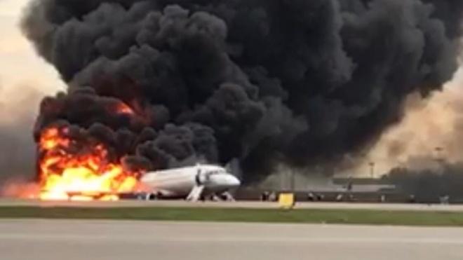 У російському «Шереметьєво» приземлився палаючий літак. Загинули люди